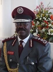 Commissioner General of Prisons can. Dr. Johnson Omuhunde Rwashote Byabashaija