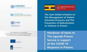UNODC & EU HANDOVER TO UPS