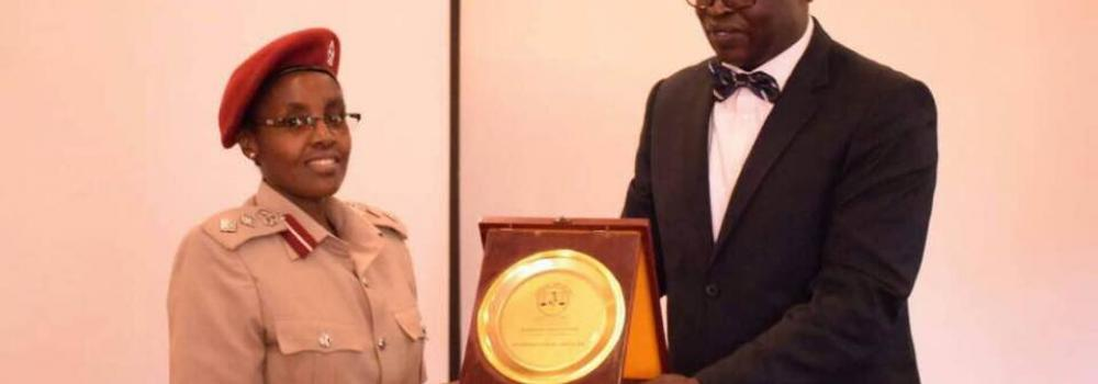 PRISONS WINS AWARD FOR PROMOTING THE RULE OF LAW